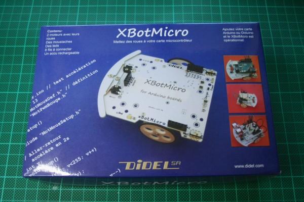 Le XBotMicro dans sa boîte