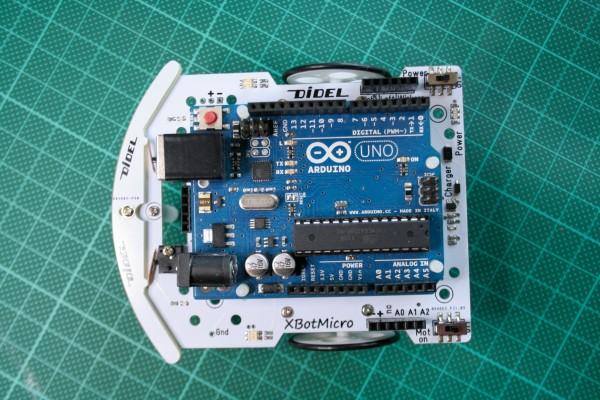 XBotMicro avec un Arduino