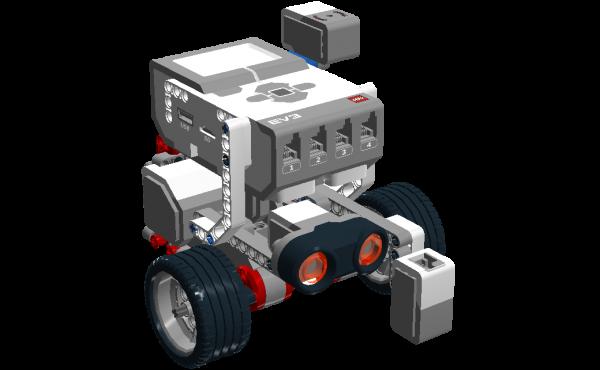 Modèle simplifié Lego Mindstorms Ev3